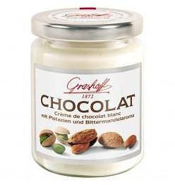 Белый шоколадный крем с фисташками и миндалем, 235 гр