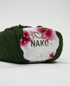 Пряжа Nako FIORE 25% лен, 35% хлопок Гиза, 40% бамбук
