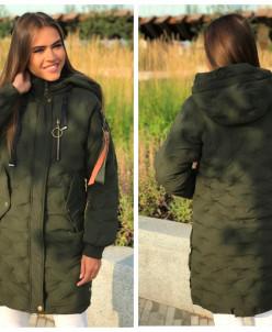 Женская демисезонная 1866 куртка хаки