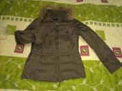 Куртка - пуховик Zolla без капюшона с натуральным