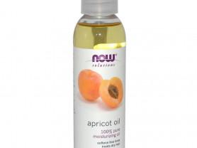 Натуральное абрикосовое масло, Now Foods, США