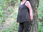 Костюм туника/капри для беременных новый с этикетк