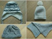 Rezerved, Zara, Outventure - шапки и шарф, б/у