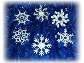 Снежинка - подвеска