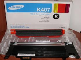 Картридж черный тонерный К407S Samsung - б/у