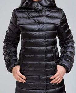 Пальто для девочки цвет темно-серый