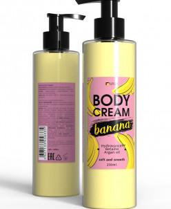 """MILV. Крем для тела """"Банан"""" (арт. 18064). 250 мл."""
