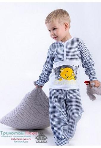631e2a944af4b Пижама детская Соня для мальчика (футер) 2692285 - Babyblog.ru