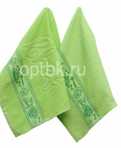 Повар Набор кухонных полотенец Toalla 2 шт (зелёный) 40х60