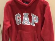 Gap флисовая толстовка р 8-9 л