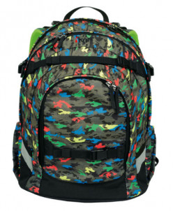 Рюкзак школьный iKON  Dark Camouflage.