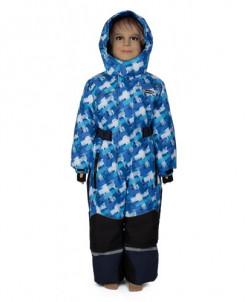 Комбинезон для мальчика 776-М голубой