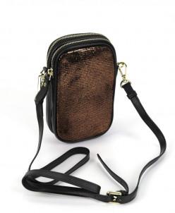 Женская сумка 6622 Бронза