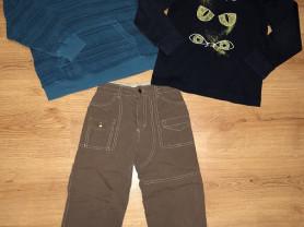 Флиска, худи и штаны на флисе р.116