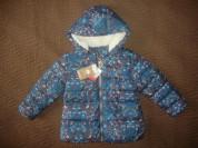 Новая, утепленная курточка NEXT д/д.Размер 110.