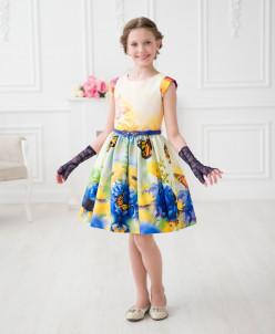 Платье «Сказки весны»