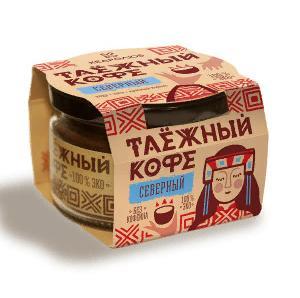 """Таёжный кофе """"Кедролюб"""" (Северный) 85 гр"""