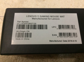 Коврик для мышки Lenovo Y Gaming Mouse Mat Pad