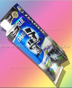 Угольная зубная паста Дарли «Сияние белизны