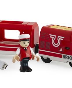 Пассажирский поезд на аккумуляторе BRIO (БРИО)