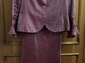 Дизайнерский комплект: платье и жакетик jasper 52+