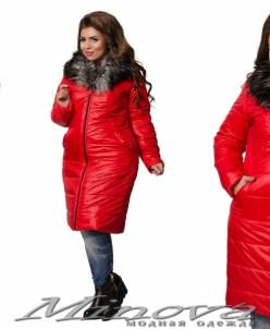 Куртка №605 (Красный)