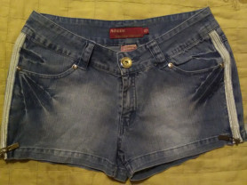 Шорты джинсовые, 100% хлопок стрейч, р.29
