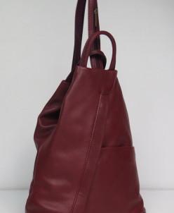 8532   рюкзак  BARBERINI'S (нат.кожа)