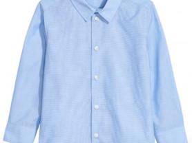 Новая рубашка с длинным рукавом H&M, 122-128 см