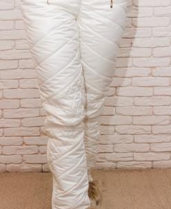 Женские зимние брюки с высокой посадкой