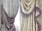 Пошив штор на заказ для дизайна интерьера в Москве