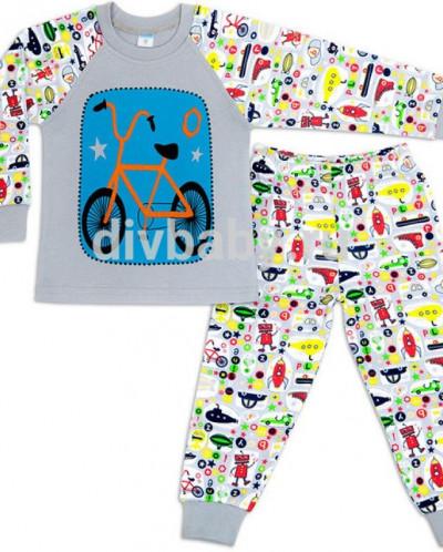 Пижама для мальчика интерлок №10