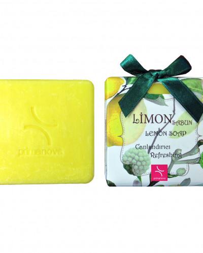 Натуральное мыло с экстрактом лимона, 100 гр.