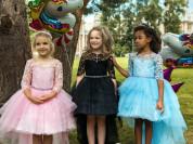 красивые праздничные детские платья