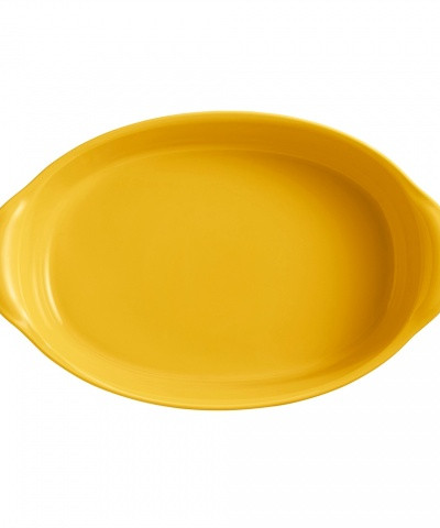 Форма для запекания овальная 41 см (цвет: прованс)
