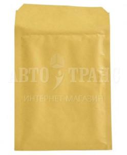 Бурый крафт пакет с прослойкой, 17*22 см