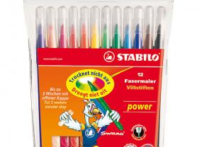 Stabilo power Набор фломастеров, 12 цв