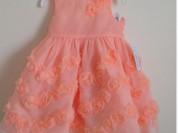 Платье нарядное коралловое (новое)