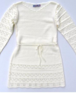 Платье арт.740 цвет топл.молоко