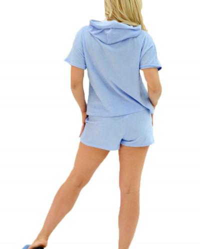 Домашний костюм ЖК 009/1 (голубой)