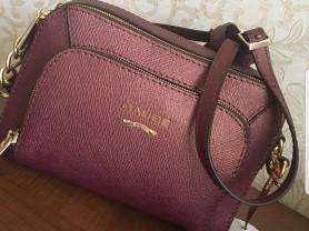 Новая сумка кросс-боди из сафьяновой кожи Италия