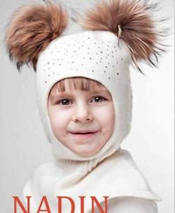 Шапочка-шлем для девочек