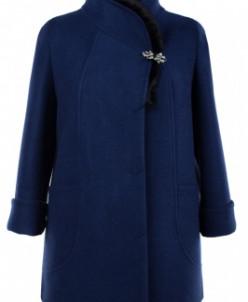 Пальто женское утепленное Валяная