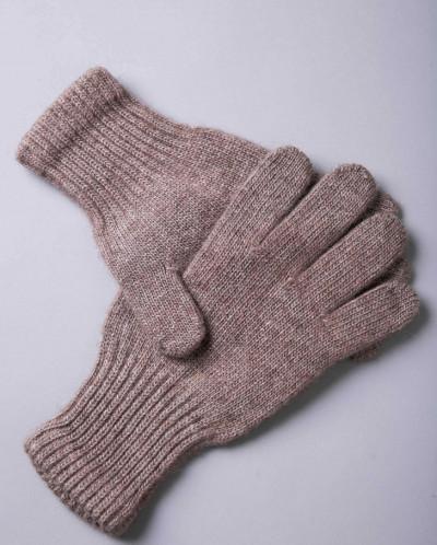 Перчатки из шерсти коричневый, Монголия