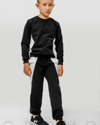 Черно-белый детский костюм