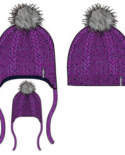 Шапка   для девочки Nano зима 19-20 предзаказ!