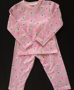 Пижама фланелевая для девочек и мальчика