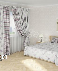 Комплект для спальни Кармина