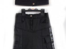 Юбка Chico line jeans и безрукавка, р. 120 (7 лет)