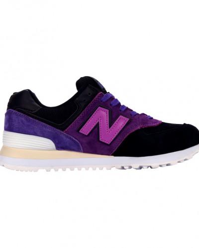 Кроссовки New Balance 574 Black Purple